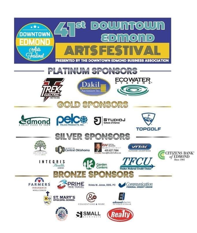 41st Art Festival Sponsors