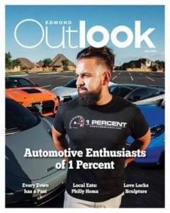 Edmond Outlook cover